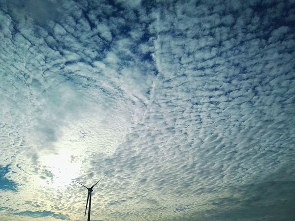 Wind Turbine Wind Turbines Pale Eoliche Pala Eolica Sky And Clouds Sky_collection Clouds Cloudy Sun Nuvole Cielo Blue Sky Blu Nuvoloso Details Sky Porn HuaweiP8 Cielo Nuvoloso Clouds And Sky PhonePhotography No Filter EyeEm Nature Lover EyeEm Best Shots EyeEm Gallery Abstract