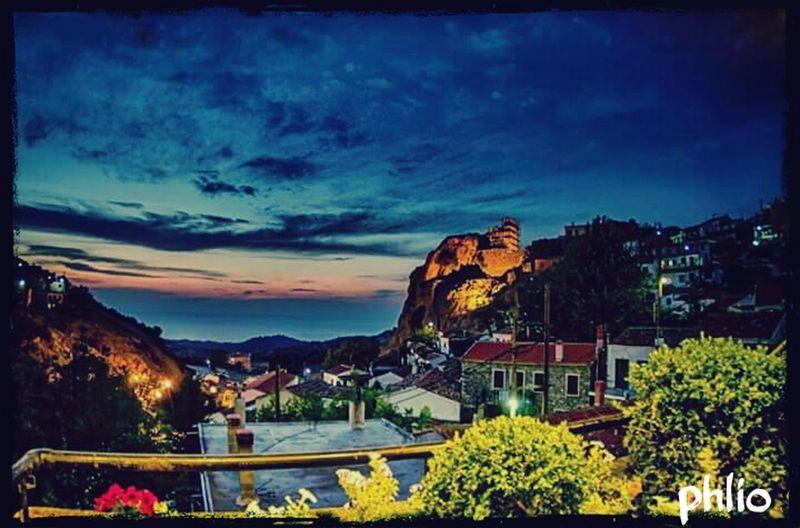 Cities At Night Hello World Phliogreece Agiosgeorgiosnhleias Me&myprincess Amazingview Portrait Nightfilter Mobilephotography Huaweip8 Lite 👌🏻🌃🌇📷📱