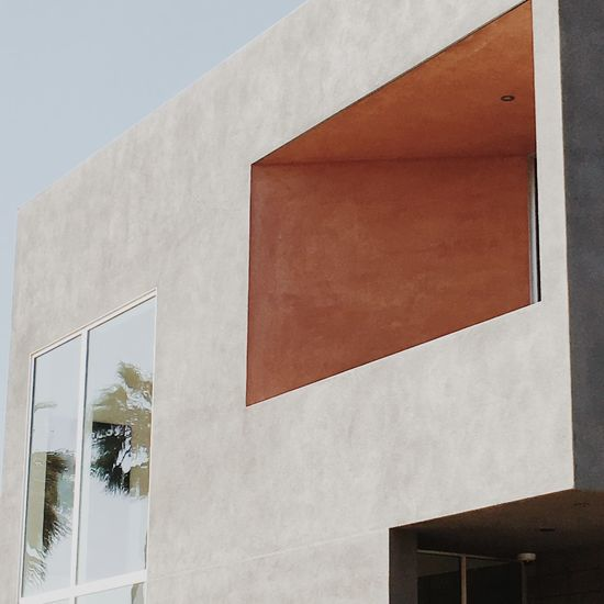 Abbot Kinney Architecture Brutalism Building Exterior Built Structure Concrete Cubism Los Angeles, California Modern No People Outdoors Reflection Sky Venice Beach