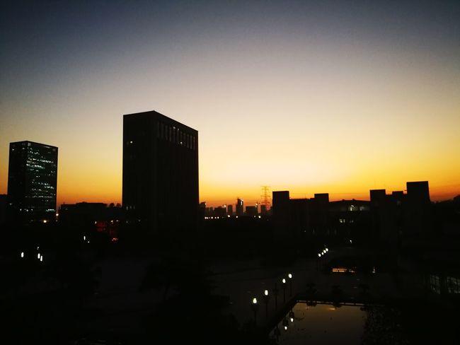 黄昏不一样的美感