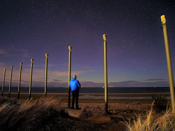 Aurora hunting and star gazing in north scotland
