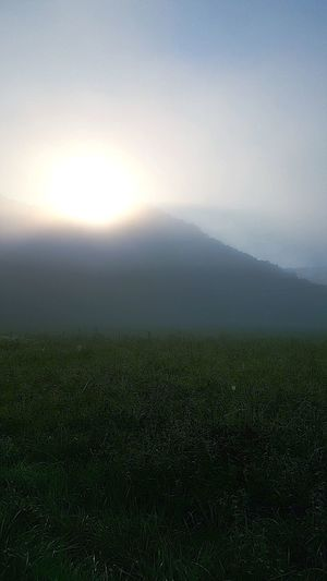Fog Sun Outdoors No People Nature Beauty In Nature Landscape Mountain Sky Scenics Morning Sunrise Kentucky  Kentucky Morning Kentuckysunrise Greenupcounty