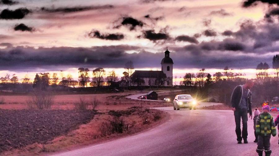 Jättendal Sweden Showcase: December Church On The Way To...