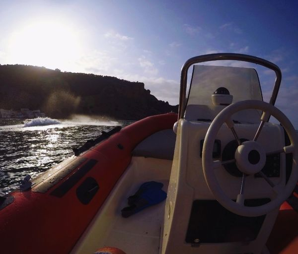 Sea Beach Boat