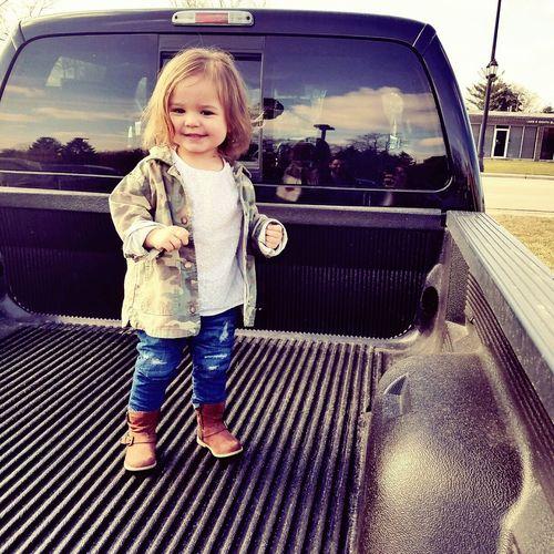 Little girl in