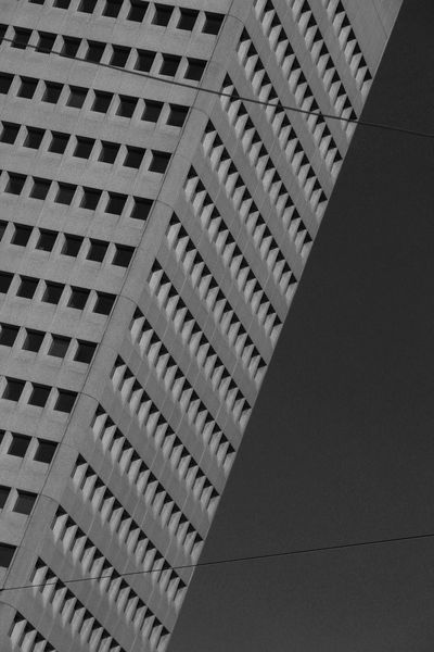 Architecture Rithm Urban Geometry Urbanization Blackandwhite City Hive Human Hive No People Skyscraper Window Pattern