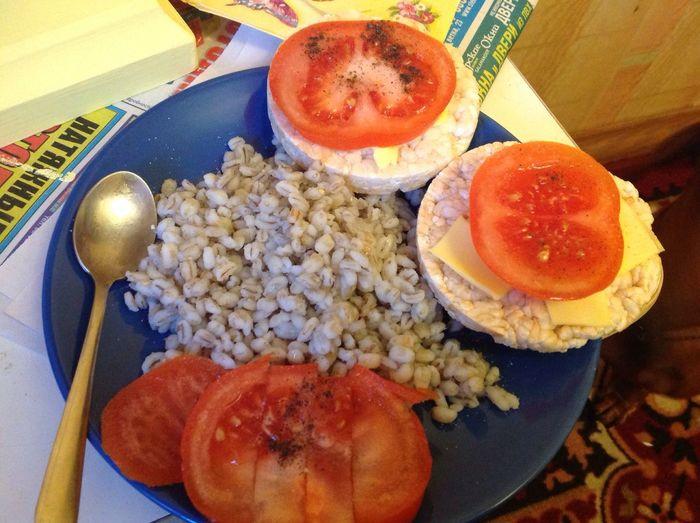 худею будухудой правильноепитание Завтрак