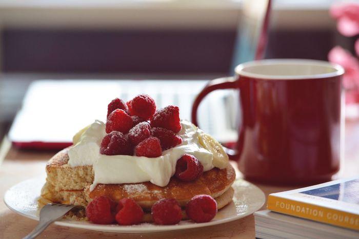 EyeEm Breakfast Club Berries Food Pancakes My Favorite Breakfast Moment Make It Yourself