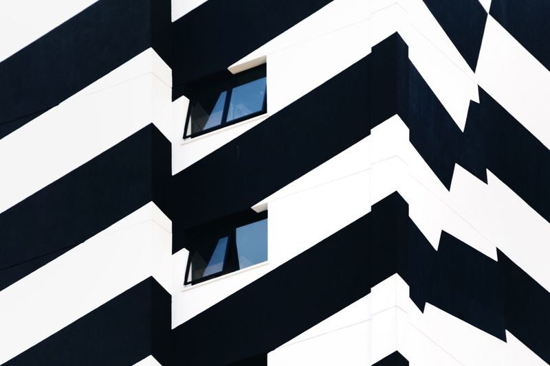 City Urban Urban Geometry Urban Landscape Lines And Shapes Architecture Low Angle View Built Structure No People Full Frame Building Exterior Pattern Backgrounds Day Building Outdoors Repetition Design Window Sky Shape Zigzag Geometric Shape City 17.62°