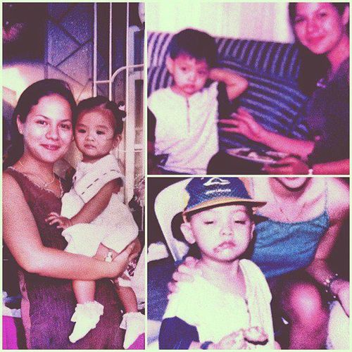 DANIEL PADILLA AND HIS MOM KARLA ESTRADA! <3