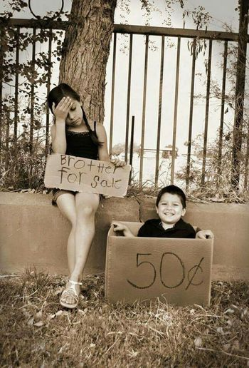 Hello World Check This Out How Cute!! On The Street Btother And Sister