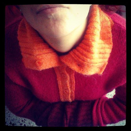 3 Dic. Questo maglioncino NafNaf è la scelta giusta. Caldissimo e super invernale ma colorato per mettermi allegria! Ilcalendariodelclub2012 Ilclubdelnataleasettembre
