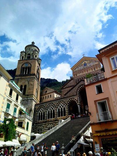 Duomo Di Amalfi Architecture Built Structure Place Of Worship Tourism Costiera Amalfitana Amalfi  Amalfi Coast Coastline Architecture Religion