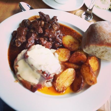 Delicious main course... #yummie #tbex Yummie Tbex
