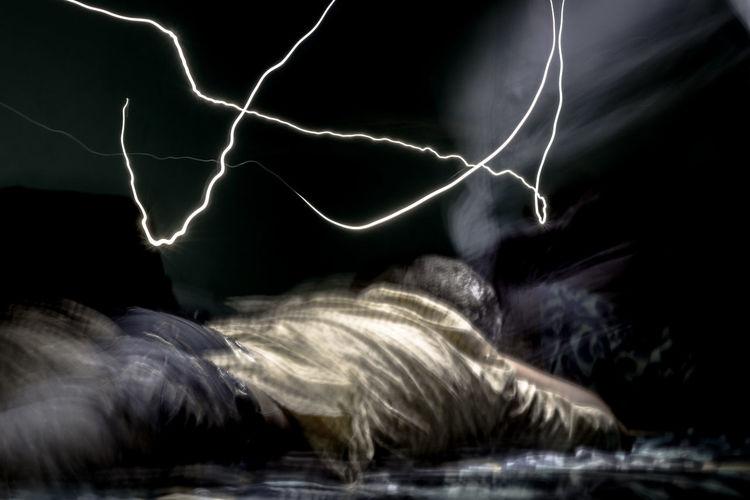 Summoning the inner power Inner power EyeEmNewHere Life And Living Spirituality Indoors  Lightning Inside Long Exposure Portrait Power