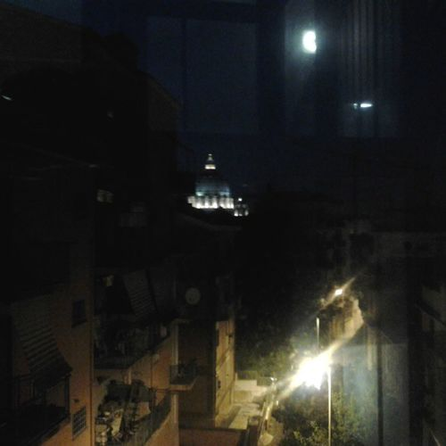 From the window of My friend's house. San Pietro