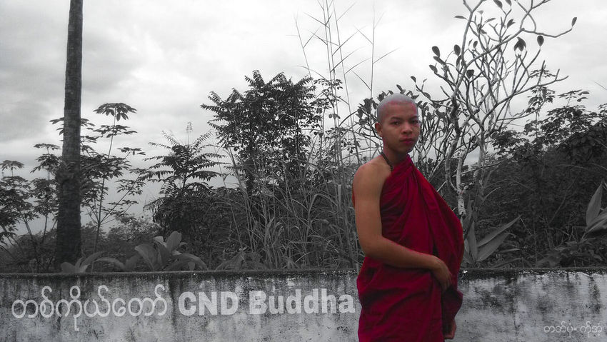 Buddha in myanmar. My life is peace because I don't have job. 😄 Red People Men One Person Myamar Yangon Dawei Tanintharyi Pagoda Myanmar Photography The King Style Myanmar