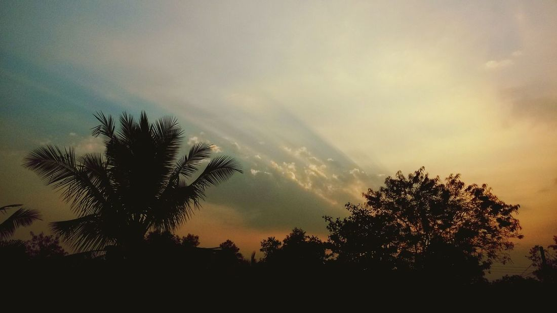Sunset,I love to watch it everyday Sunset Relaxing EyeEm Nature Lover Popular Photos
