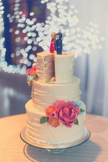 Wedding Cake Bokeh