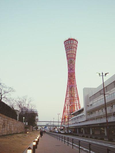 Kobe Port Tower Kobe-shi,Japan 三ノ宮 Haru's Photo Sannomiya
