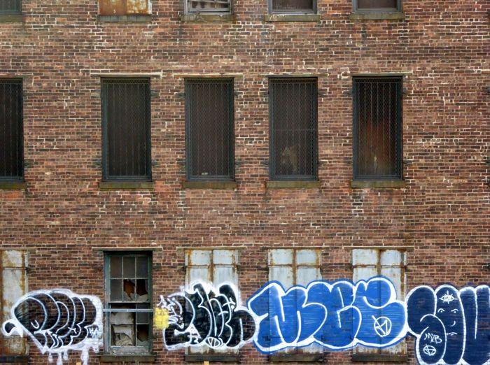 Brick wall with brick wall