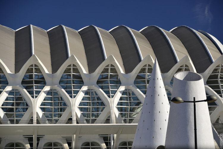 Architecture Calatrava Calatravaarchitecture City Of Arts And Sciences City Of Arts And Sciences Of Valencia, Spain Ciudad De Las Artes Y Las Ciencias Daylight Museo De Las Ciencias MUSEO DE LAS CIENCIAS PRÍNCIPE FELIPE No People Outdoors Prince Felipe Museum Of Science Santiago Calatrava SPAIN Valencia, Spain València