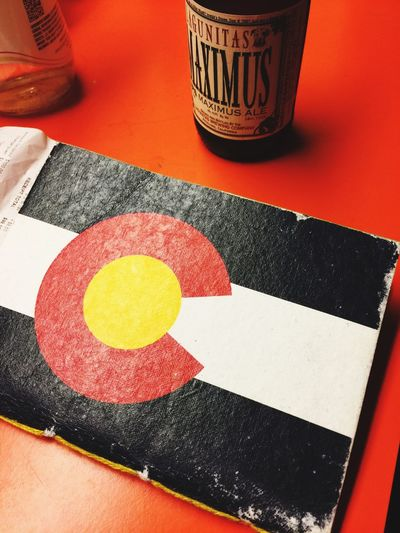 Beer State Flag Colorado Maximus Basement Red First Eyeem Photo