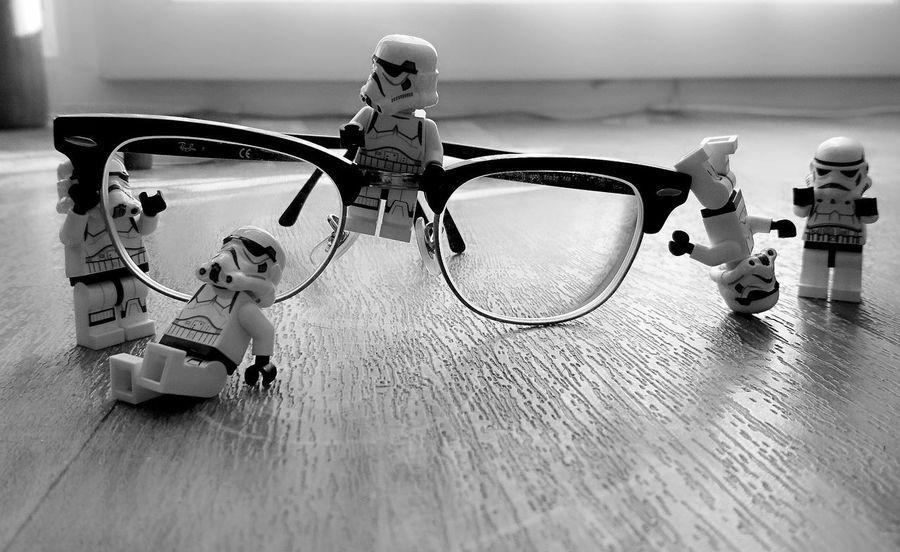 Black & White Clubmaster Star Wars LEGO