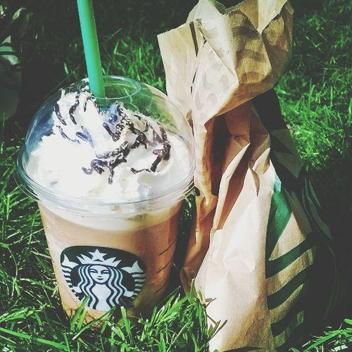 Starbucks Enjoying The Day