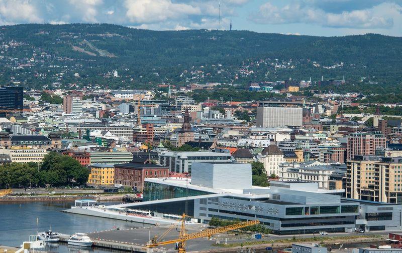 Oslo 2014 Hafen Norway🇳🇴 Norwegen Rathaus Capital Hauptstadt Oslo Norway Port