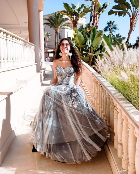 Full length of woman wearing bridal clothing standing outdoors