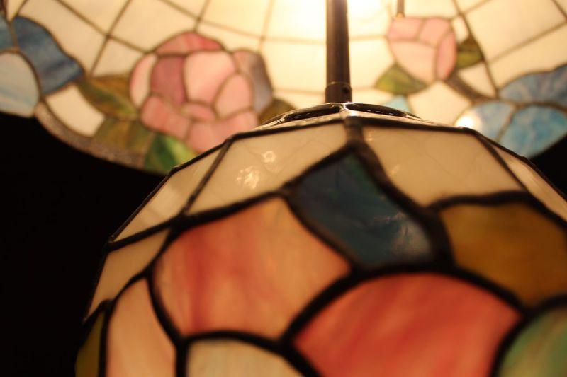 Lieblingsteil No People Indoors  Night Tiffany Lamp