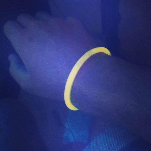 Fluo  Yellow Braccialetto Night Greece Ipsos
