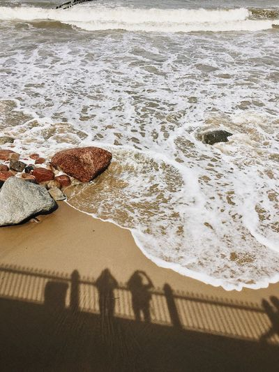 Baltic sea Beach Sand Land Sunlight Nature Day Water