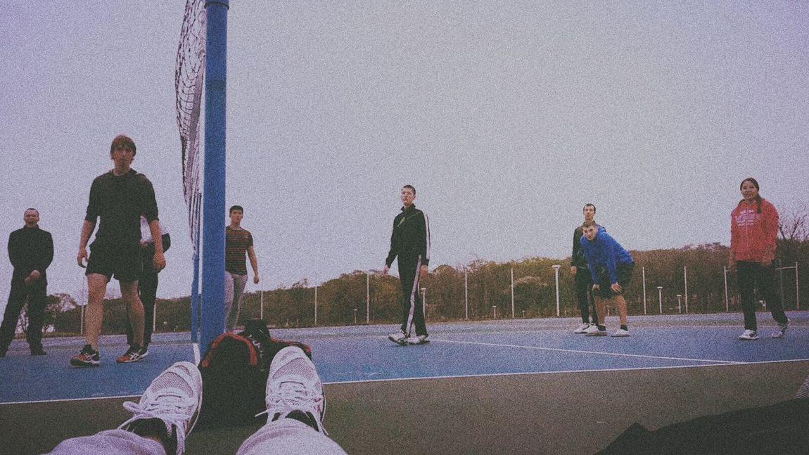 мы волейболисты Relaxing Game Friends Asics Asicsgelltye Volleyball