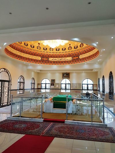 Indoors  Ceiling Culture Divine Islam Assistance Help Chisti Saaberie Lion Of Africa First Eyeem Photo Hazrat Khalid Shah