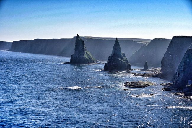 Ducansby Head Caithness Rock Formation Rock - Object