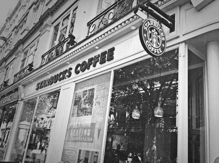 Starbucks Blackandwhite Traveling Enjoying Life