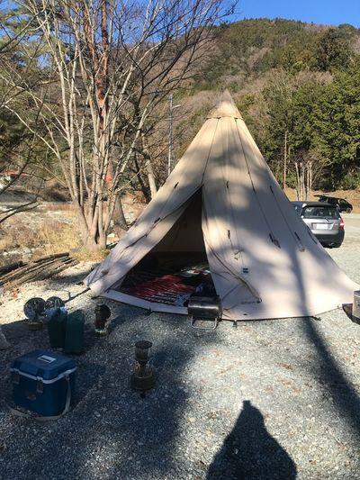 昨日からキャンプです。一週間ほど