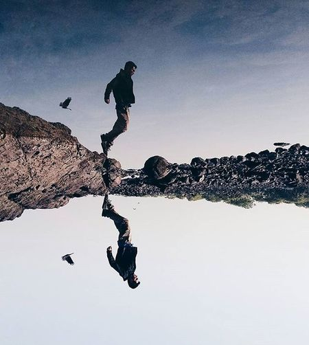 Most of us who don't want power fail to realize the greatness of those who want it but resist it. Connection Connections Jumpshot Levitation Reflection Upsidedown Puddle Reflections Puddle Flying Bird Fly Learn & Shoot: Balancing Elements The Great Outdoors - 2016 EyeEm Awards Eyeemphoto