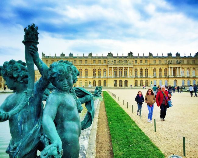 Versailles, Yvelines, France 2017 Architecture France French Revolution King Sumptuous Treaty Of Versailles UNESCO World Heritage Site Versailles Château Entourage French Gardens History King Louis XIV Marie Antoinette Opulent Palace Royal Palace Yvelines EyeEmNewHere