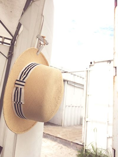 Hat in summer. Hat Summer 帽子 夏