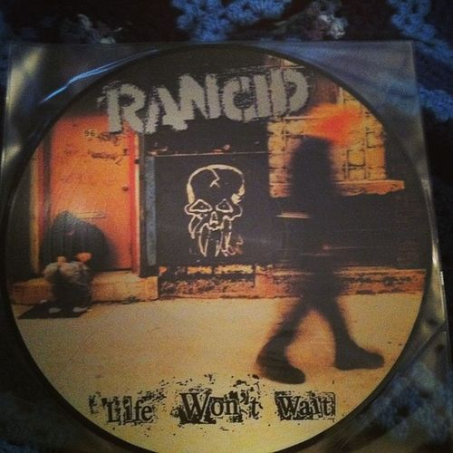 My stepdad got me a rancid vinyl Lifewontwait badass