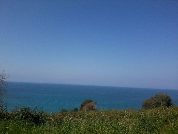 Sea Sea View Blue Sky Hello World