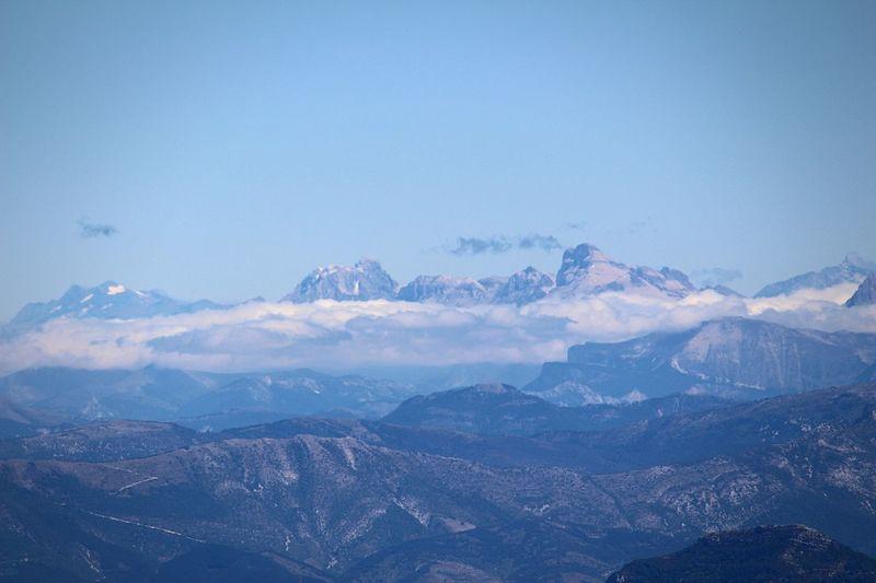Mountain Snow Outdoors Nature Sky Beauty In Nature Blue Cloud - Sky Nuages Et Ciel Nature Paysage Montagnes Mont Ventoux Beauty In Nature Beauty