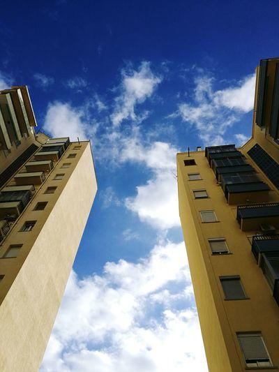 Architecture Sky City Edificios No People Cloud - Sky Huawei P9 Plus Fotografia Mobilephotography Photography Photo Vilanova I La Geltru Barcelona