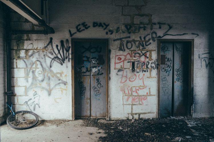 Inside an abandoned car park Urbexphotography EyeEm_abandonment Abandoned & Derelict Derelict Building Derelict