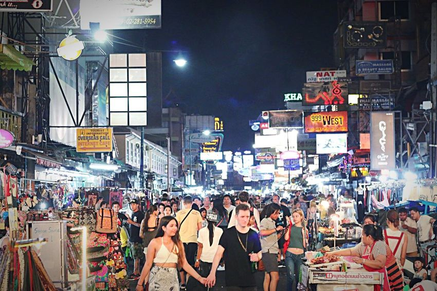 Bangkok city by upphoto Hanging Out City