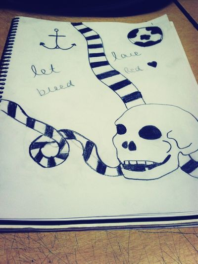 My drawing in art.
