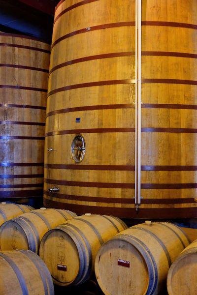 Port maturing Port Barrel Cylinder Wine Cask Wine Cellar Indoors  Cellar Winery Wine Refreshment Drink No People Winemaking Alcohol Food And Drink Container Wood - Material Building Stack Food And Drink Industry In A Row